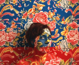 Fine Art and Camouflage Self-Portraits by Cecilia Parades