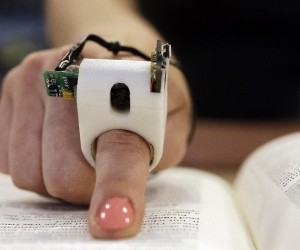 Finger Reader: Index Finger Gadget that Helps the Blind Read Text