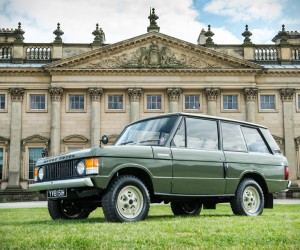 First-Built 1970 Range Rover Up for Auction