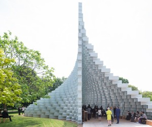 First Glimpse at BIGs Serpentine Pavilion