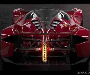 First Look at 1500 HorsePower Dendrobium Electric Hypercar