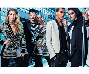 First Look at Balmain x HMs Campaign