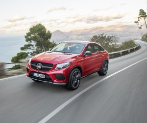 First Look at Mercedes-Benz GLE Coup