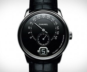 First Look At The New Monsieur de Chanel Platinum Black Watch
