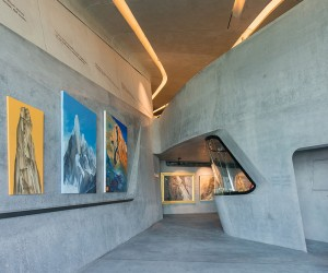 First Look Inside Zaha Hadids Messner Mountain Museum