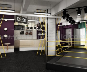 Fitness Motivation Gym Renderings Ideas from 3D Interior Designers of - Boston, USA