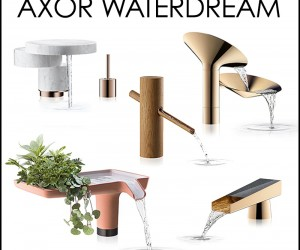 Five Designers Create Faucets for Axor WaterDream 2016