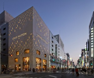 Flashy Louis Vuitton Store in Tokyo