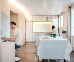 Flat in Tours by Edouard Brunet and Julie Duchateau