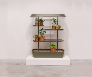 Flatpack Greenhouse by Jonas Wagell