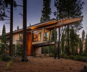 Flight House in Truckee, California by Sage Architecture