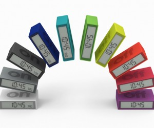 FLIP Alarm Clock by Adrian  Jeremy Wright for Lexon