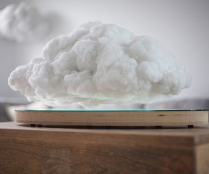 Floating Cloud Speaker by Richard Clarkson and Crealev