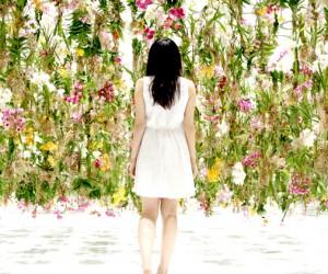 Floating Flower Garden Installation by teamLab, Tokyo