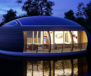Floating green home Giancarlo Zema