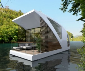 Floating hotel concept from Salt and Water