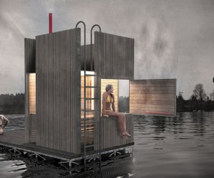 Floating Sauna | goCstudio