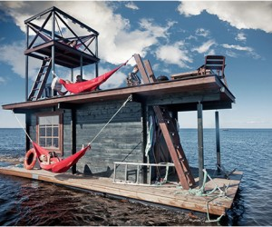 Floating Sauna Houseboat