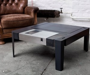 Floppy Table: The Floppy Disk Reincarnated