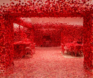 Flower Obsession by Yayoi Kusama At NGV Triennial