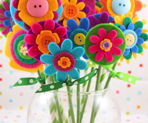 Flower Power: Cute Floral Kids Crafts for Spring, Summer and All Year Long
