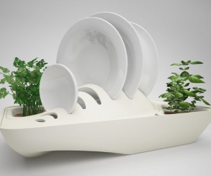 Fluidity: Dish Drying Rack