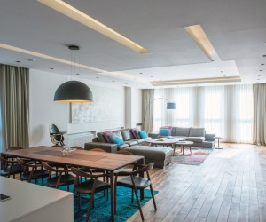 Fo4a Architecture Design a Spacious Contemporary Apartment in Bosnia and Herzegovina