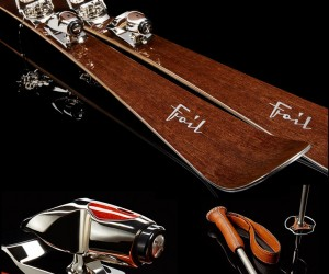 Foils Stunningly Beautiful Ski Equipment