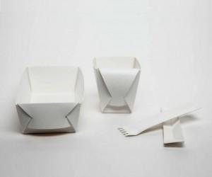 Fold Project: A Folding Up Eating Set