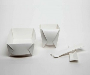 Fold Project: A Folding Up Eating Set