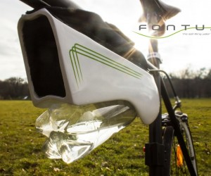 Fontus Self-Filling Bottle Condenses Air into Drinking Water