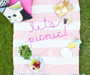 For the Sunnier Days: 15 Best DIY Picnic Blanket Tutorials