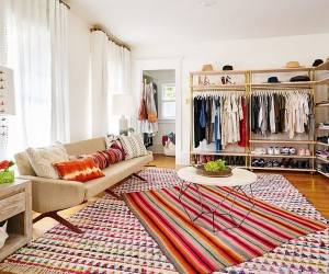 For Your Dream Bedroom: Eclectic Walk-in Closets with a Persona that Dazzles