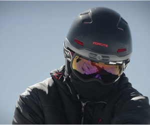 Forcite Alpine Smart Helmet