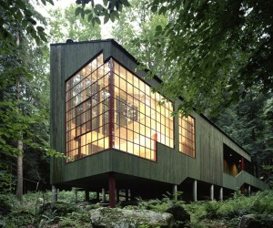 Forest House by Bohlin Cywinski Jackson