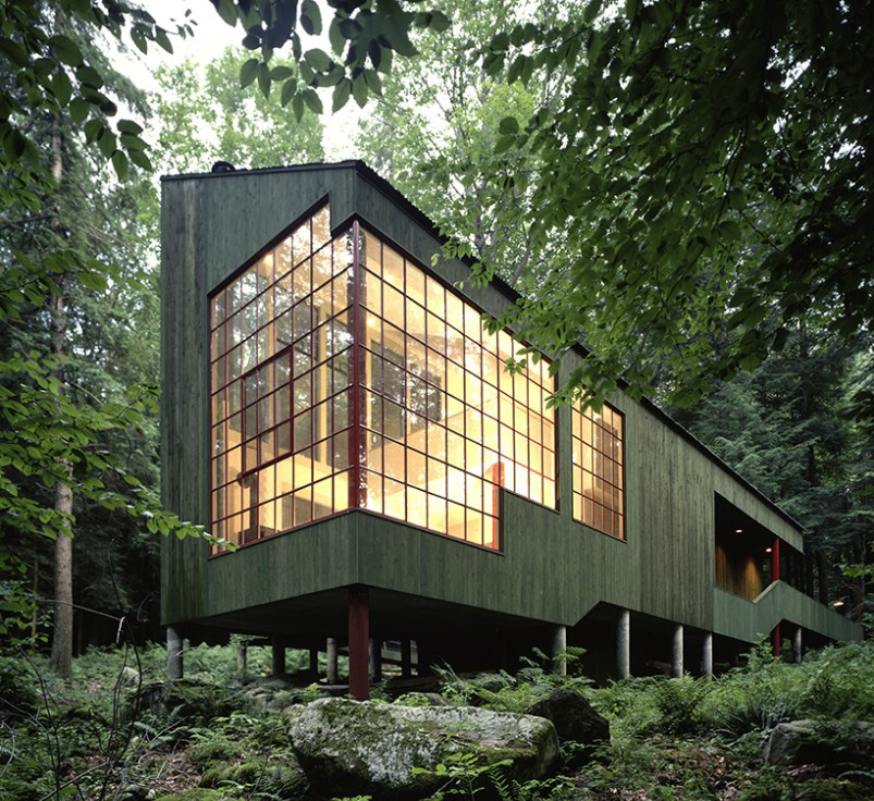 Top 50 Modern House Designs Ever Built: Forest House By Bohlin Cywinski Jackson