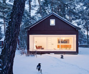 Forest Retreat Waldhaus by Atelier ST