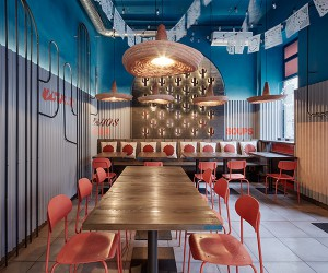 FormaFatal Designs Burrito Loco Restaurant In Prague