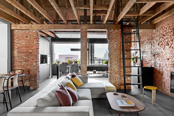 Former Office Space Converted In A Warm Home