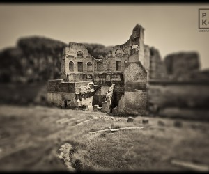 Forum Romanum - Black and White Fine Art Series by Andrew Prokos