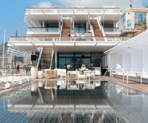 Foster  Partners Inaugurated the Yacht Club de Monaco