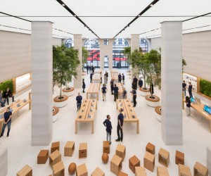 Foster  Partners re-imagines Apple Regent Street store