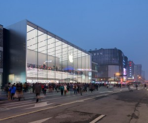 Foster  Partners Unveils New Apple Store in Hangzhou