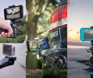 FreeRide Smartphone Mount - Hack every GoPro, GoWorx, and traditional camera mount you own