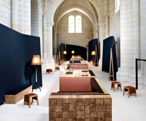 French Former Monastery Turned into Art Hotel
