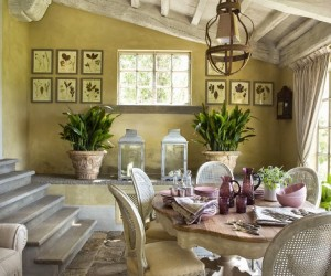 French Provencal Home in Italy