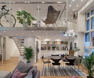 Fresh and Bright Scandinavian Apartment with Exceptional Details