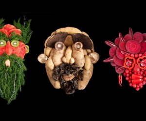 Fresh Faces Made From Organic Food by Emily Dryden  Zahyd Pietri