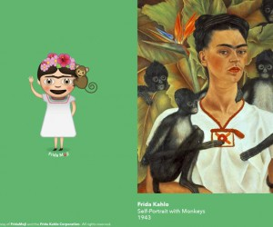 FridaMojis: Frida Kahlo Infiltrates The Snapchat Generation With A New Set Of Emoji