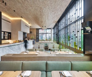 Fucina restaurant London by AMA